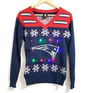 PATRIOTS | NFL | Light Up Christmas Sweater